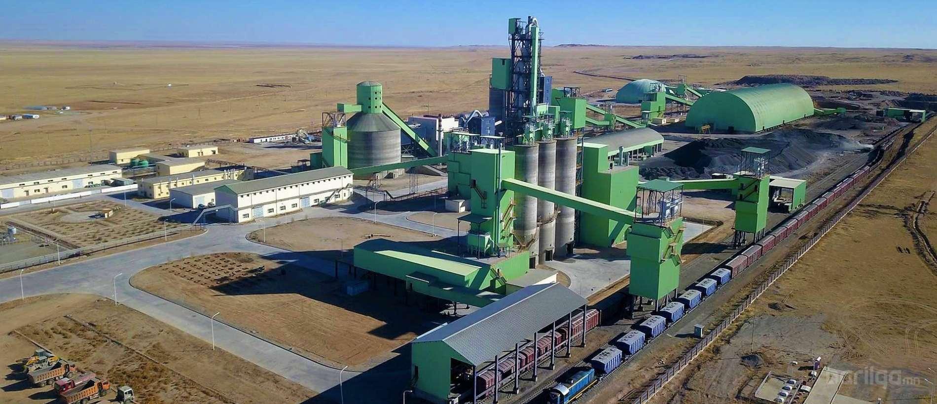 Дундговь аймгийн Өргөн суман дахь Монцемент Билдинг Материалс компанийн цементийн цогц үйлдвэр